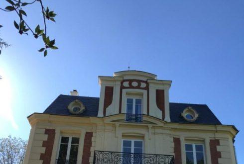 Ravalement d'une ancienne demeure