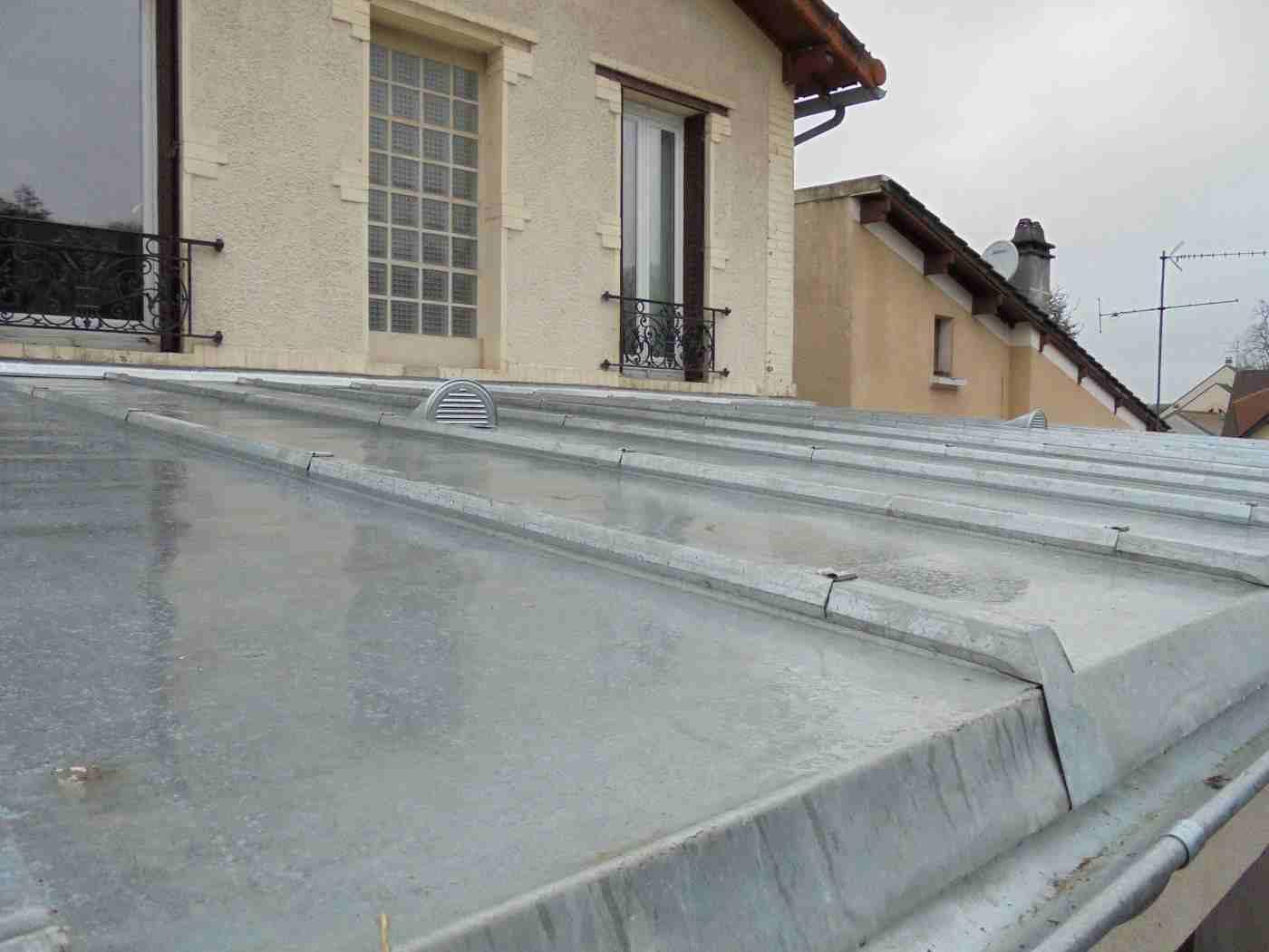 toiture en Zinc à Tasseaux à Bourg La Reine gallery